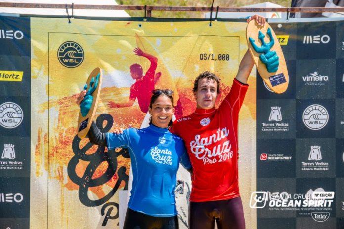 Andy Criere e Garazi Sanchez Ortun são os vencedores do Santa Cruz Pro 2016