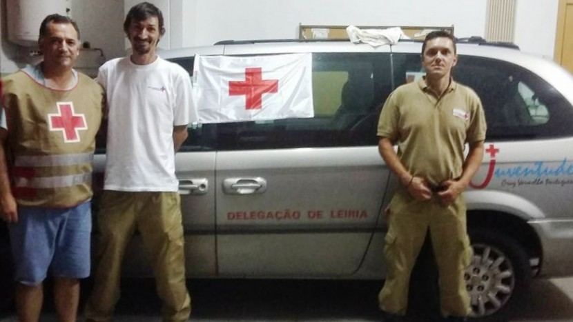 Cruz Vermelha de Torres Vedras lança operação de apoio aos Bombeiros