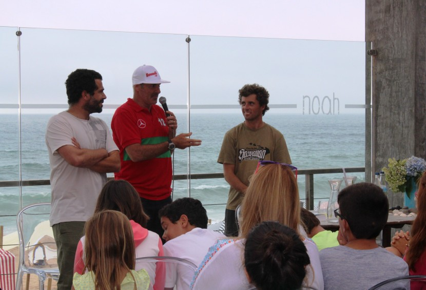 """Garrett McNamara em Santa Cruz. """"Em Portugal o que mais gosto são as pessoas"""""""