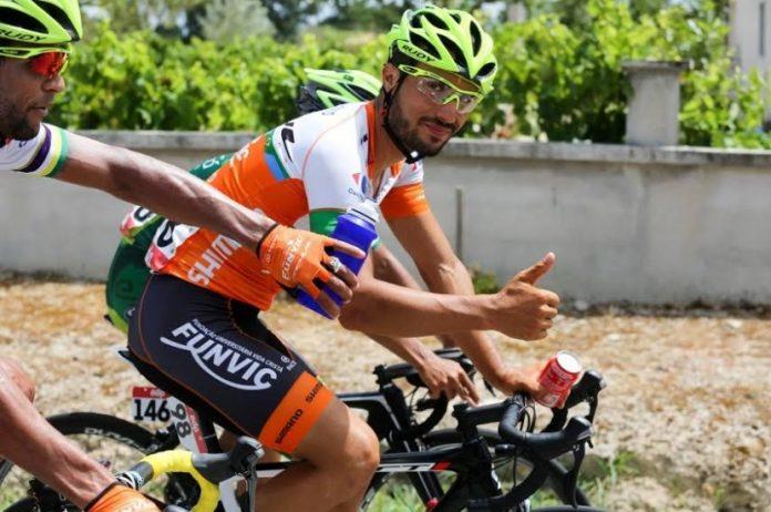 Luís Mendonça, atleta da Sicasal/Constantinos/UDO participou na Volta a Portugal