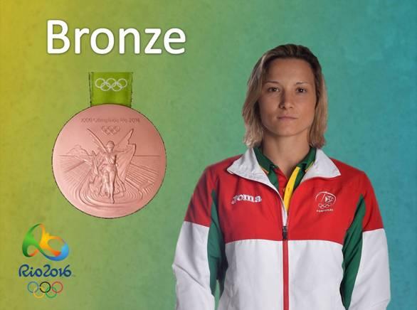 Telma Monteiro conquista o Bronze nos Jogos Olímpicos Rio 2016