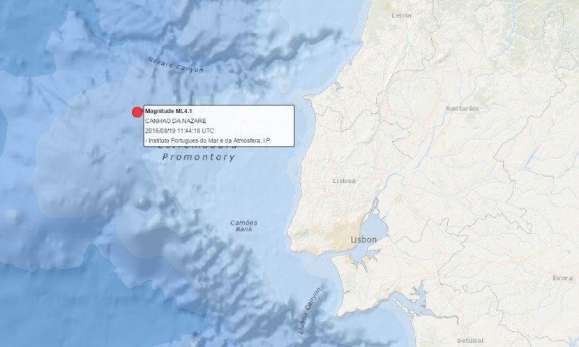 Sismo de 4,1 com epicentro ao largo de Peniche