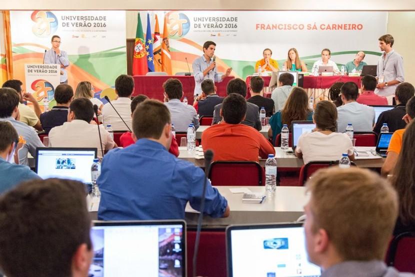 Secretário-Geral da JSD Lisboa - Área Oeste participou na 14ª Universidade de Verão do PSD