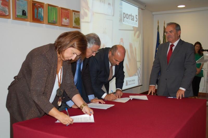 Porta 5, o novo equipamento cultural do centro histórico de Torres Vedras