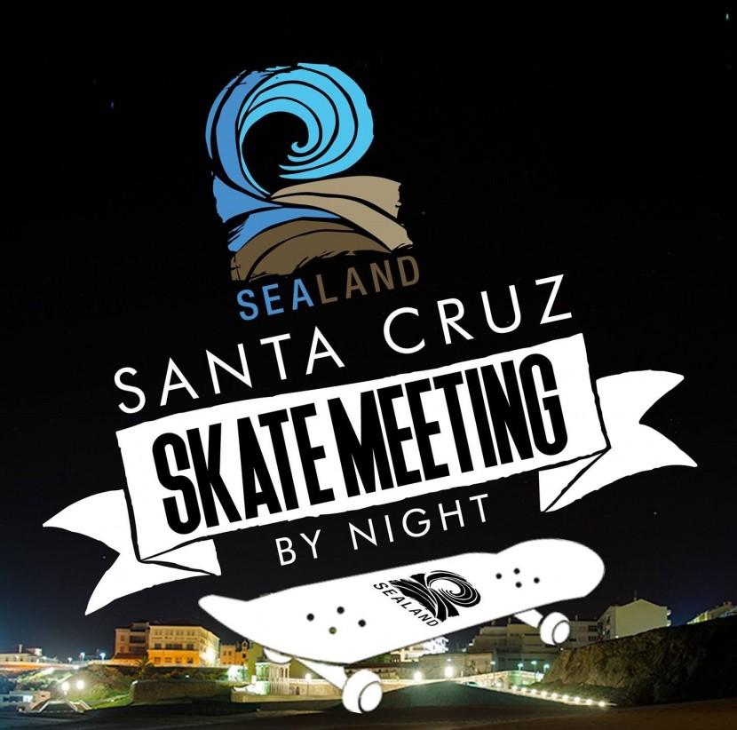 Santa Cruz Skate Meeting junta amantes do skate junto ao mar
