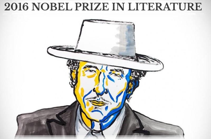 Prémio Nobel da Literatura para Bob Dylan