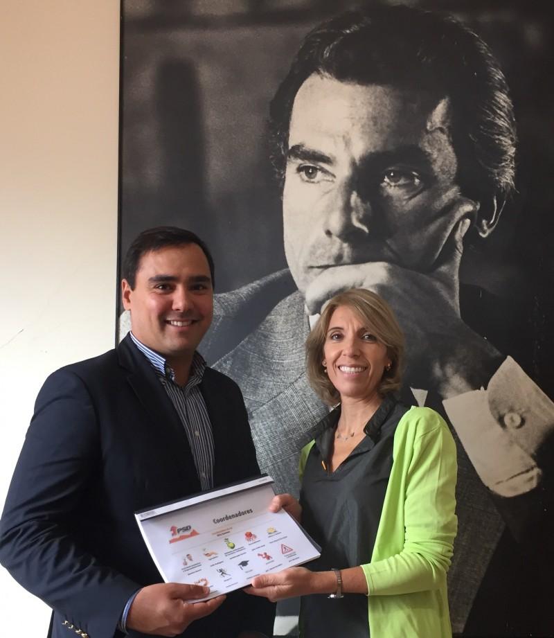 Rita Sammer e Marco Claudino