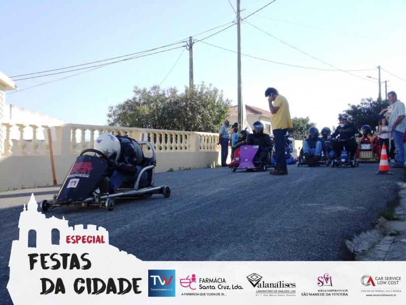 Carrinhos de Rolamentos: uma aventura do Casal Charrinho à entrada de Torres Vedras