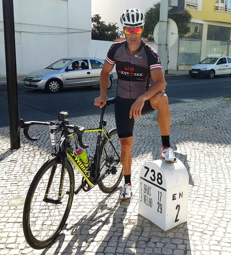 Paulo Almeida, o torreense que vai pedalar de Valência a Santa Cruz