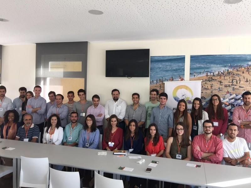 Mais de 55 participantes na 2ª edição da Academia Oeste + Jovem da JSD