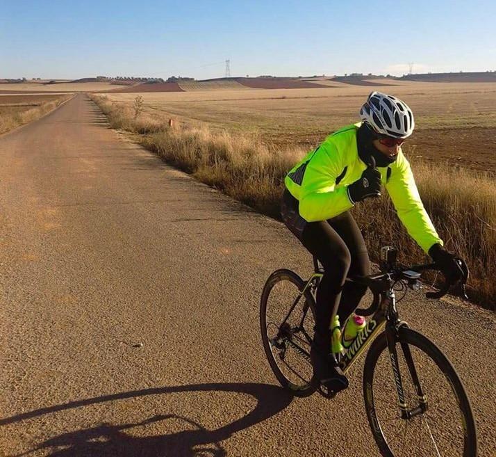 Paulo Almeida pedalou 1020 km.