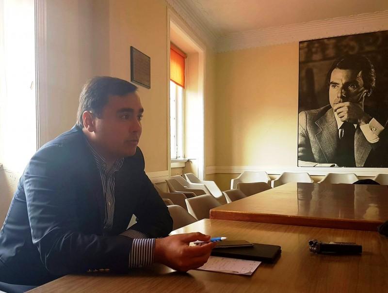 """""""Acredito que vamos ganhar as Autárquicas de 2017"""" afirma Marco Claudino, candidato do PSD"""