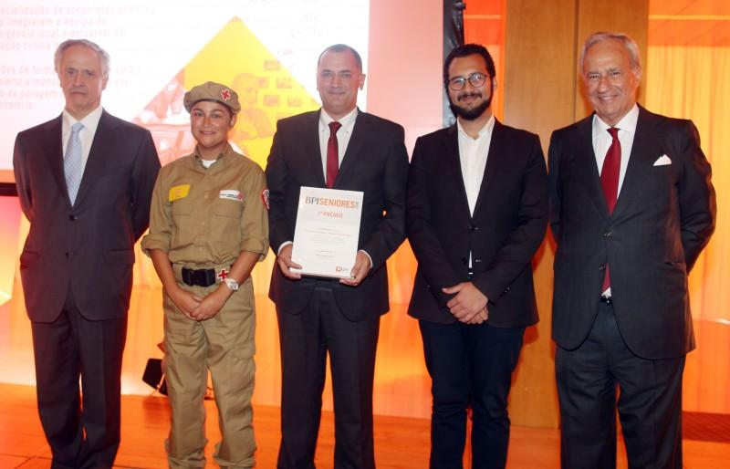 Cruz Vermelha de Torres venceu o 1º Lugar do Prémio BPI Séniores