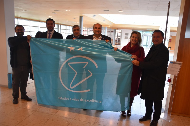Torres Vedras reconhecida com a Bandeira Nível II - Cidades de Excelência