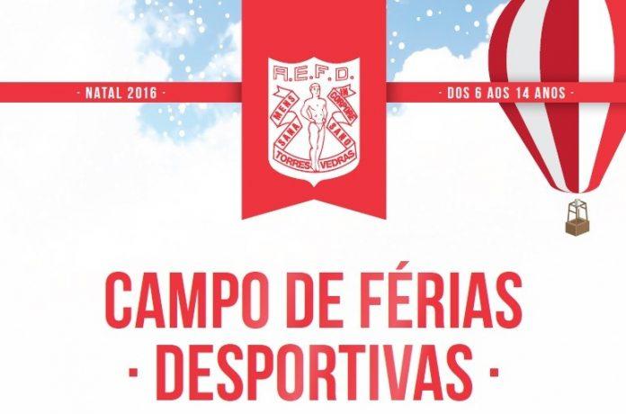 Física de Torres Vedras promove Campos de Férias durante a época natalícia