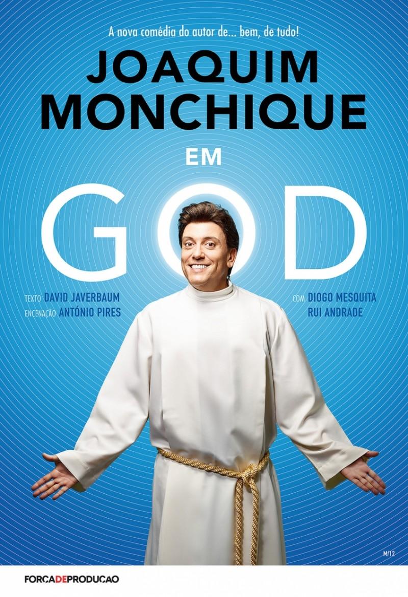 """""""GOD"""" vai passar pelo palco do Teatro-Cine de Torres Vedras"""