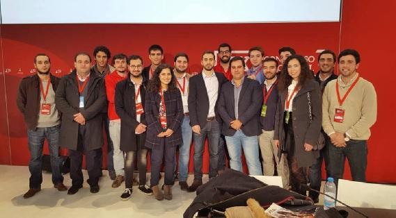 Jovens socialistas do Oeste eleitos no XX Congresso Nacional da JS