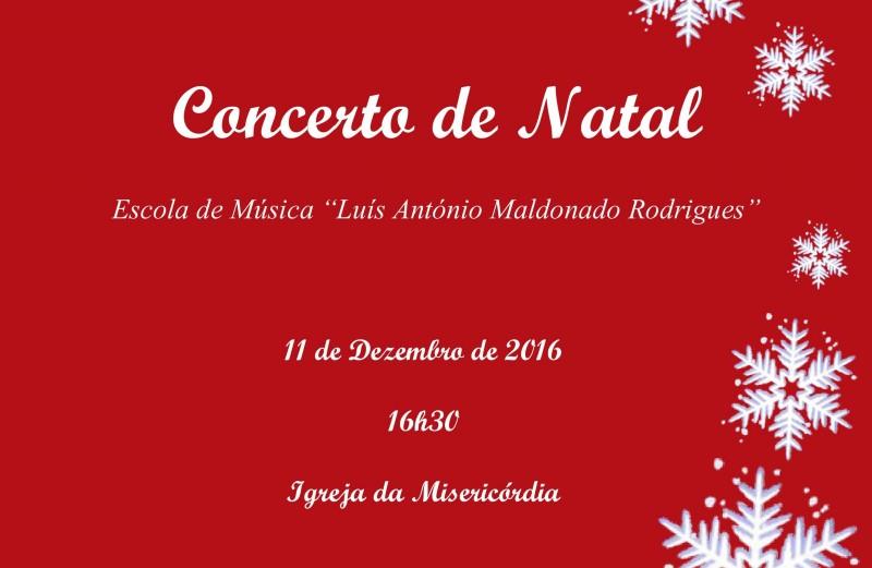 Concerto de Natal da Escola de Música