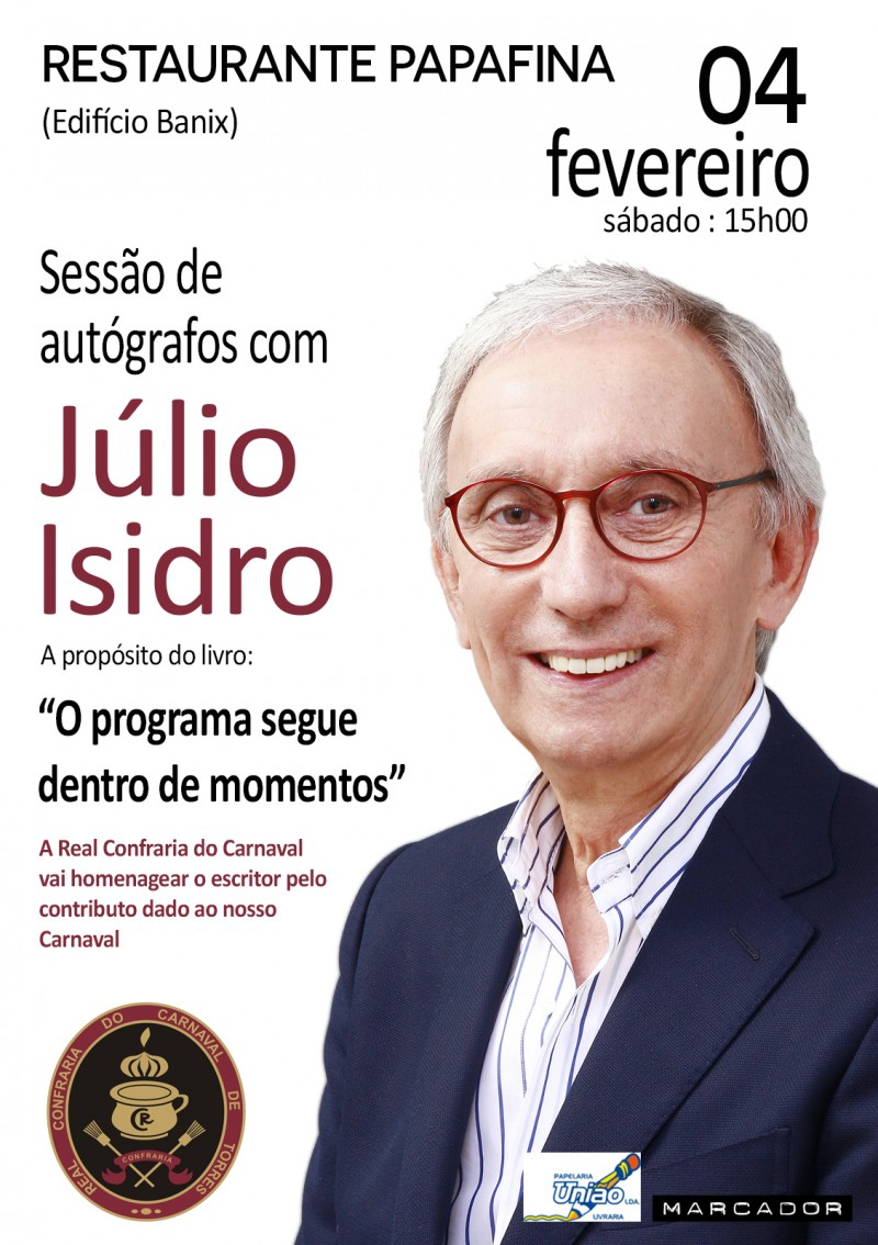 cartaz julio isidro