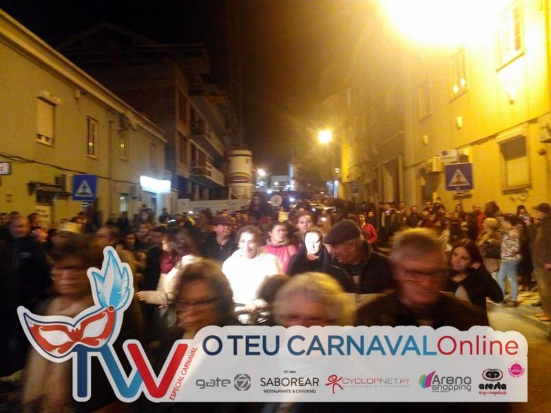 O Carnaval terminou com o Enterro do Entrudo!