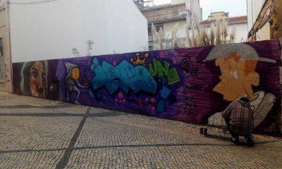 Graffiter dá cor à Rua 1º de Dezembro!