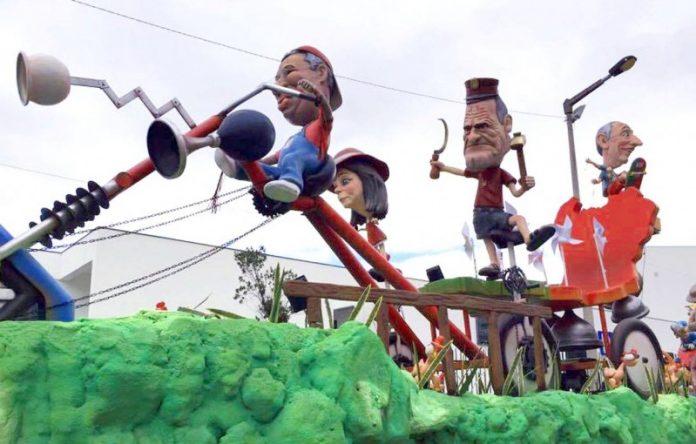 A Geringonça melhor carro do Carnaval 2017