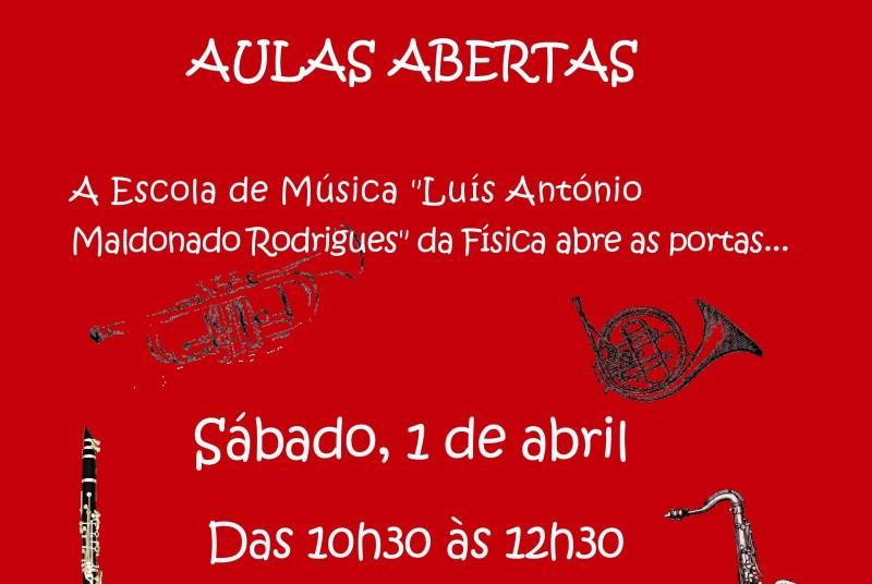 """Manhã de Aulas Abertas na Escola de Música """"Luís António Maldonado Rodrigues"""""""