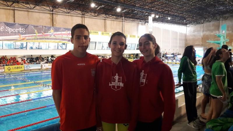 nadadores fisica meeting lisboa