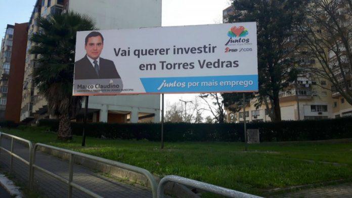 Candidatura de Marco Claudino à Câmara Municipal coloca Cartazes em Lisboa