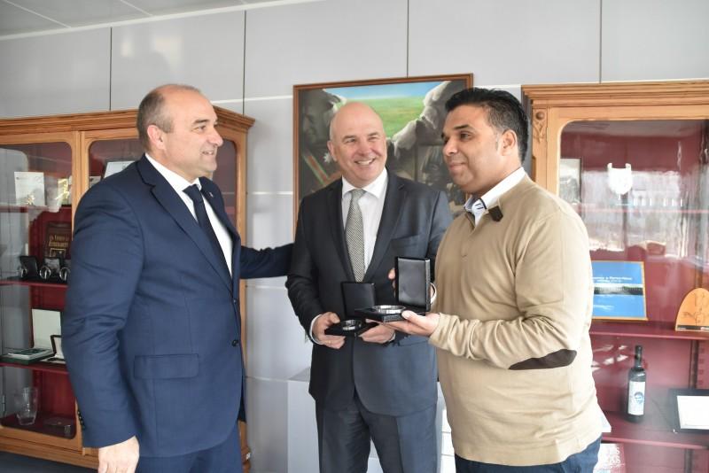 Comissário do Conselho da Europa para os Direitos Humanos Visitou Torres Vedras