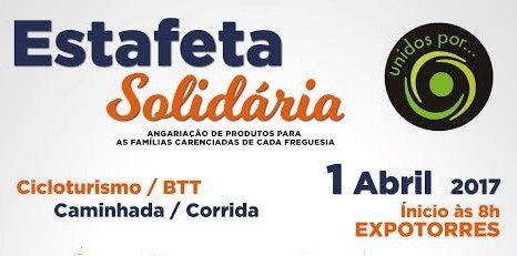 """""""Estafeta Solidária"""" realiza-se Amanhã!"""
