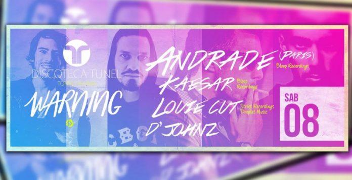 Andrade (Paris) na Discoteca Túnel!