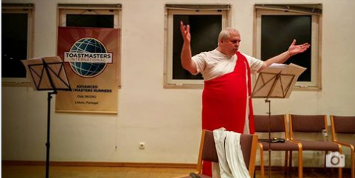 Torres Toastmasters organizam Workshop de Teatro de Improviso!