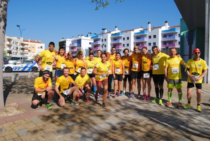 Dolce Furadouro na corrida dos 100 anos do Torreense