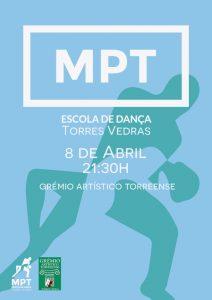Espetáculo de Danças de Salão realizado pela escola de dança MPT no Grémio Artístico Torreense