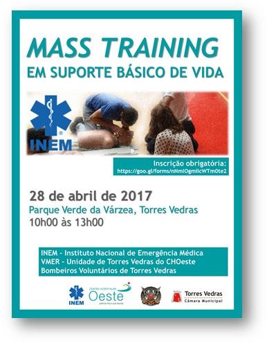 mass training em torres vedras