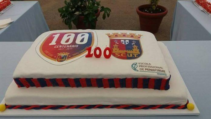 Bolo dos 100 anos do SCUT