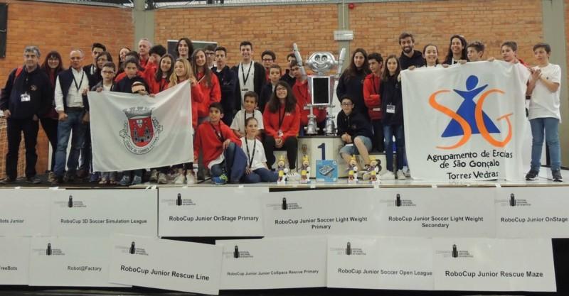 Clube robótica Escola São Gonçalo vence em Coimbra