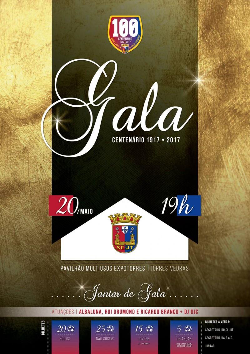 Gala do centenário do SCUT