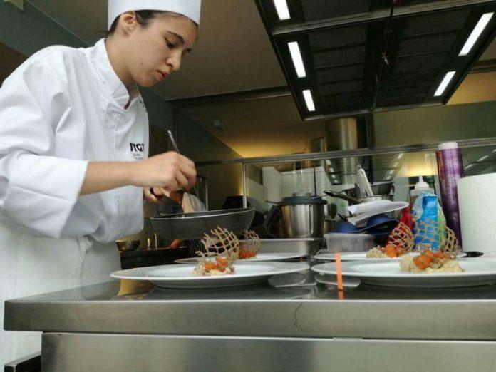 Beatriz Pires jovem talento na cozinha