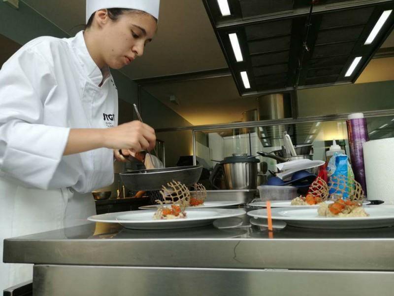Beatriz Pires vence etapa jovem cozinheiro