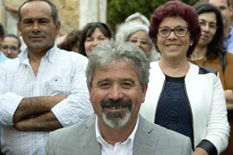 João Tomaz candidato em Dois Portos e Runa