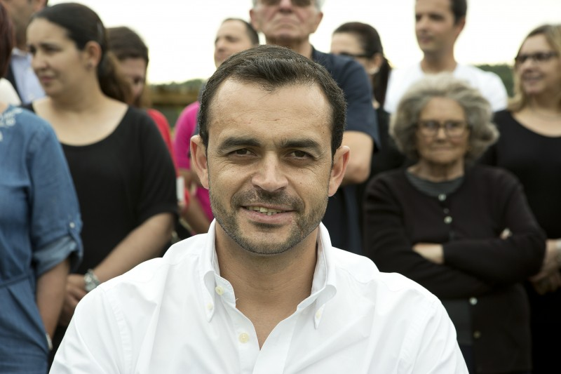 Celso Carvalho candidato PS em Maxial e Monte Redondo