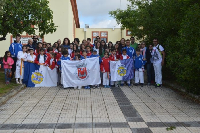 Karaté do Freiria Sport Clube no Algarve