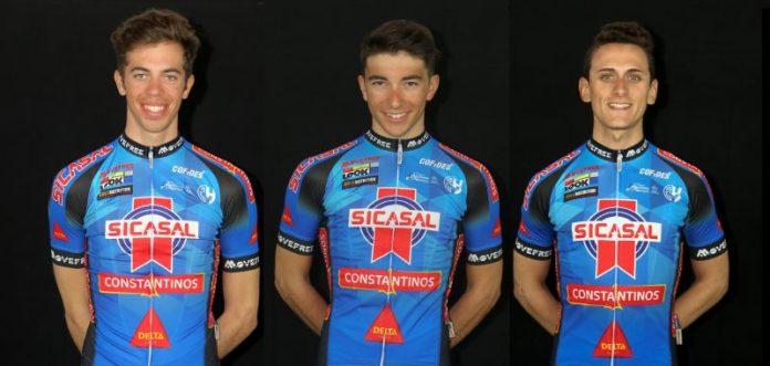 3 Ciclistas da Sicasal Constantinos Delta Cafés na seleção nacional sub 23