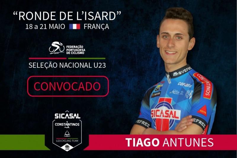 Tiago Antunes na seleção de sub 23