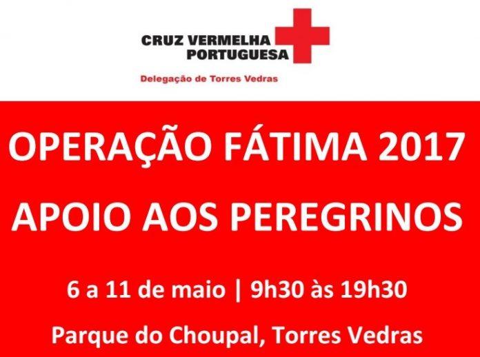 Operação Fátima 2017 Cruz Vermelha delegação TVedras