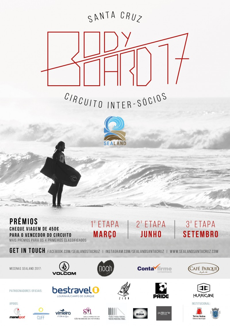 Bodyboard inter socios sealand