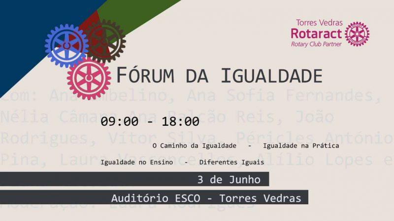 Forum não ha humanidade sem igualdade