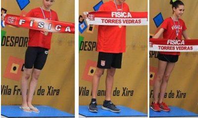 Atletas da Física batem recordes em Vila Franca de Xira